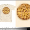 Fall Sale! Tan Sun Badge - Adult T-shirt Originally $35