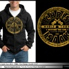 Fall Sale! Special Sale Price! Sun Badge Hooded Sweatshirt 50% Savings! Was originally $50!